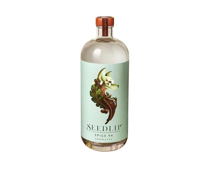 """**[Seedlip Spice 94 non-alcoholic spirit, $45.95 for 700ml, Dan Murphys](https://www.danmurphys.com.au/product/DM_697768/seedlip-spice-94-non-alcoholic-spirit-700ml