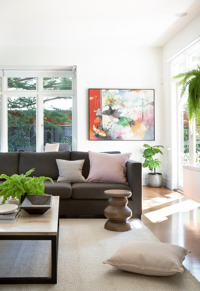 """The [living room](https://www.homestolove.com.au/modern-living-room-ideas-18535
