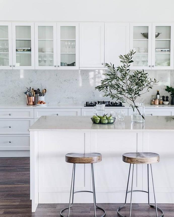 *A light and bright kitchen fitted with gas appliances is an asset to any home. Photographer: Abbie Melle   Story: Country Style*