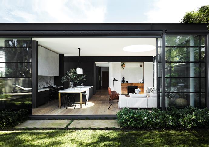 Windows and sliding glass doors from Steel Windows Australia.