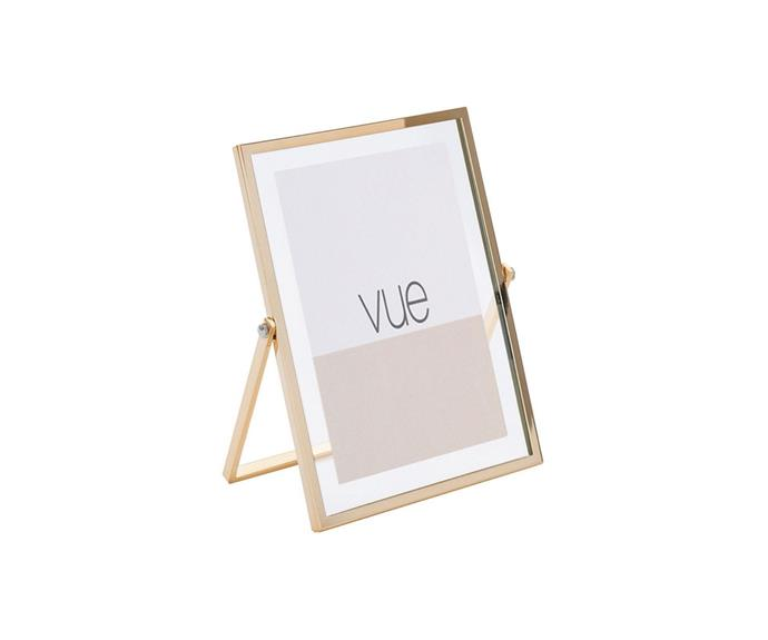 """Have your loved ones close by while working from home like Meghan with a sophisticated brass photo frame. This classic frame from Myer is the idea size for a desk with a stand to keep it at just the right angle.   **Vue Abbie Gold Glass 10 x 15 cm Photo Frame, $19.95, [Myer](https://www.myer.com.au/p/abbie-gold-glass-10-x-15-cm-photo-frame-371608120 target=""""_blank"""" rel=""""nofollow"""").**"""