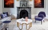 10 living rooms where a statement fireplace steals the show