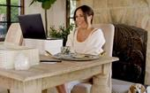 How to recreate Meghan Markle's chic home office