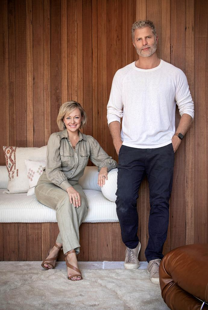 Home owner and television personality Shelley Craft and designer Jase Sullivan.