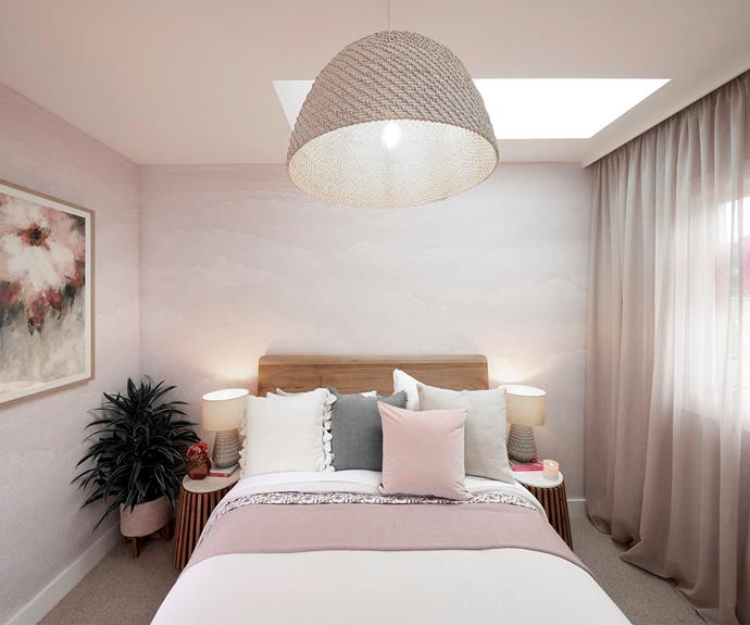 """Mitch and Mark's completed guest bedroom. Cushions and bedding from [L&M Home](https://www.lmhome.com.au/