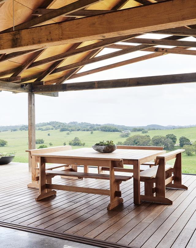 """Inspired by the design of a humble woolshed, this [new build](https://www.homestolove.com.au/barn-home-byron-bay-hinterland-22459/