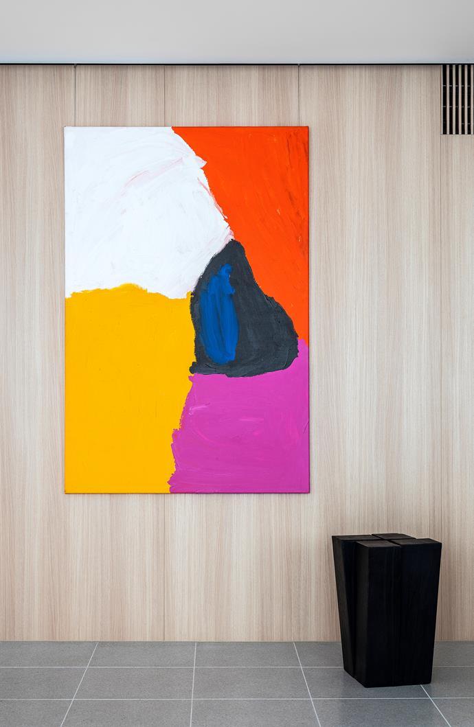 Artwork by Mirdidingkingathi Juwarnda Sally Gabori purchased from Menzies art auction.