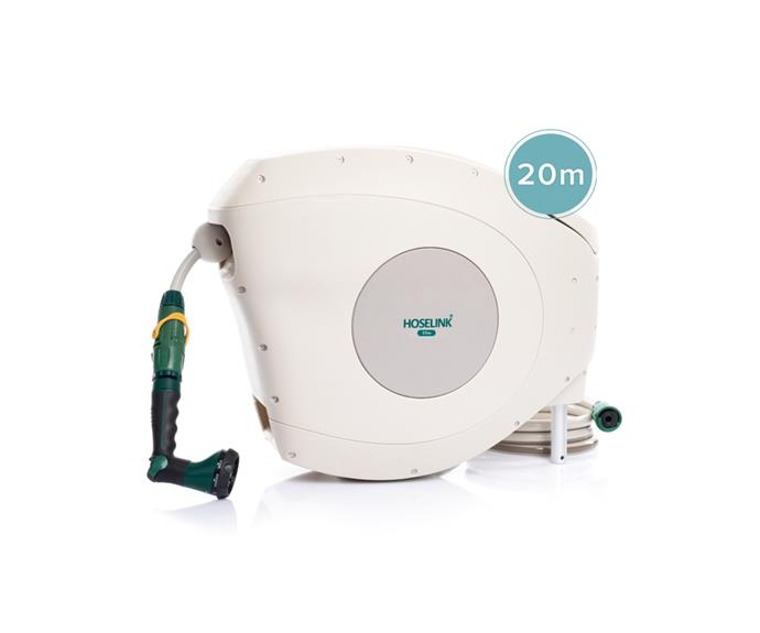 """**A hose in the front and the backyard   20m retractable hose reel, $199, [Hoselink](https://www.hoselink.com.au/products/20m-retractable-hose-reel target=""""_blank"""" rel=""""nofollow"""")**  If you're not a disciplined gardener, regular watering often goes by the wayside. Just like a second vacuum cleaner, having a second hose on hand when you need it to throw over the garden beds or potted plants might actually save lives - of the garden variety. If you are a [keen gardener](https://www.homestolove.com.au/vegetable-garden-tips-22842 target=""""_blank""""), consider a premium garden hose with its own holder, otherwise a pair of [simple plug-in-and-play hoses](https://www.bunnings.com.au/nylex-12mm-x-18m-recycled-garden-hose_p0148675 target=""""_blank"""" rel=""""nofollow"""") from the local hardware will do the job nicely."""