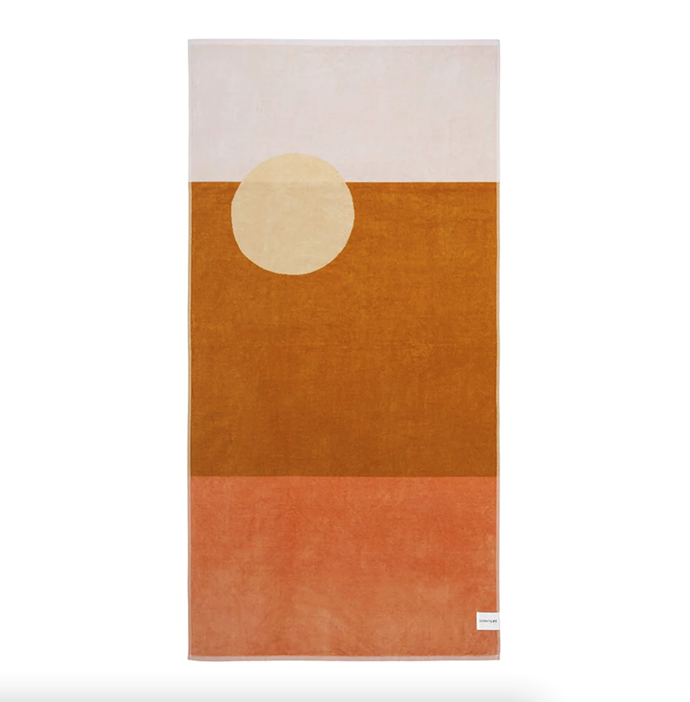 """**Sunnylife Luxe Towel - Desert Palms - Powder Pink, $109, [Amara](https://www.amara.com/au/products/luxe-towel-desert-palms-powder-pink target=""""_blank"""" rel=""""nofollow"""")**  Salute the sun in style when you're doing a morning yoga session (or a lazy lounging arvo) with Sunnylife's Desert Palms beach towel. It's bold graphic design couldn't be more appropriate for the dunes."""
