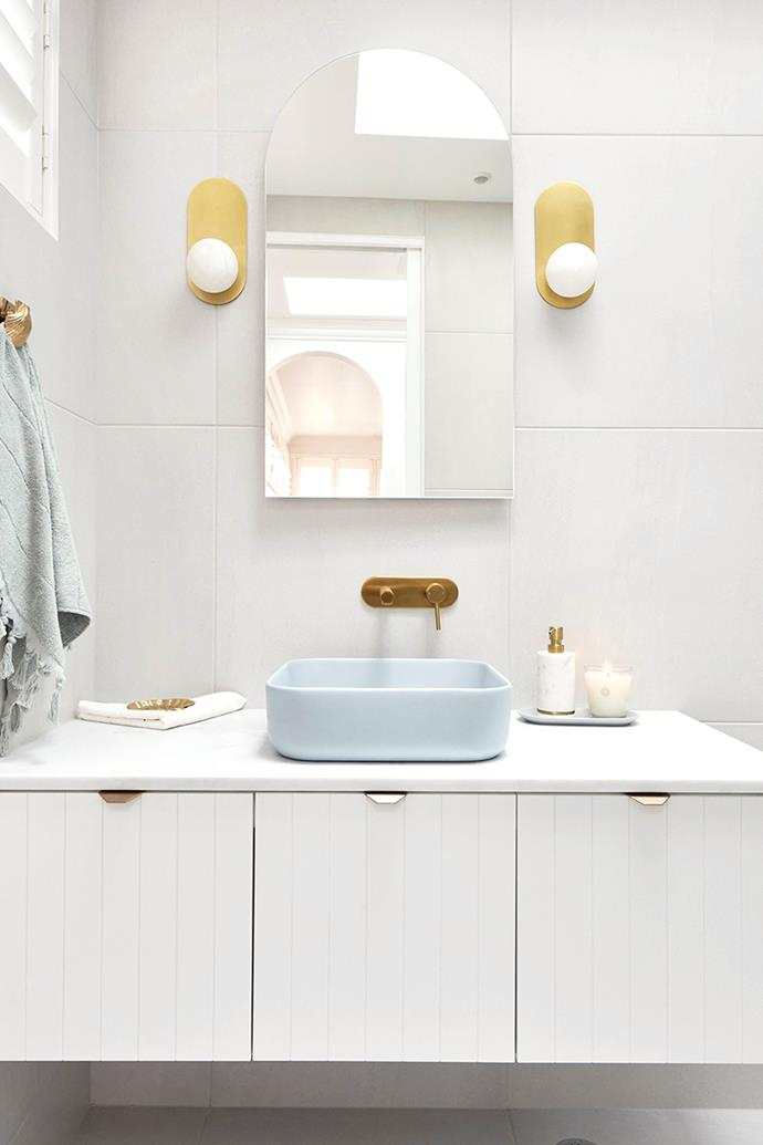 """All of the judges loved the powder-blue basin from [NoodCo](https://noodco.com.au/collections/basins-powder-blue/products/cube-basin-surface-mount-powder-blue