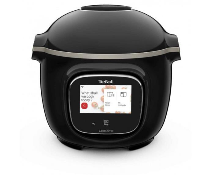 """**[Tefal Cook4Me Touch in black, $699, Bing Lee](https://www.binglee.com.au/tefal-cy9128-cook4me-touch-wifi-multi-cooker