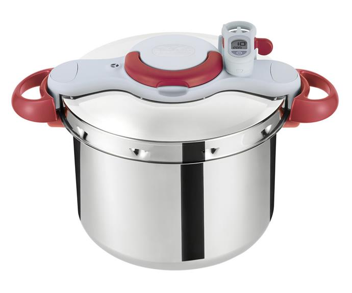 """**[Tefal P4624931 9L ClipsoMinut Perfect pressure cooker, $315, Appliances Online](https://www.appliancesonline.com.au/product/tefal-p4624931-9l-clipsominut-perfect-pressure-cooker