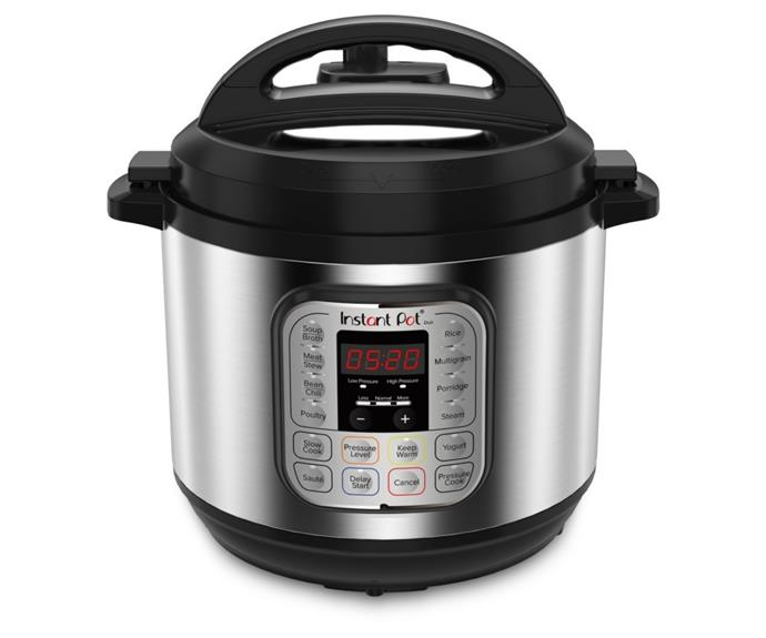 """**[Instant Pot Duo Multi-Use 8L pressure cooker, $189, Big W](https://www.bigw.com.au/product/instant-pot-duo-multi-use-pressure-cooker-8l-113-0026-01/p/140907/