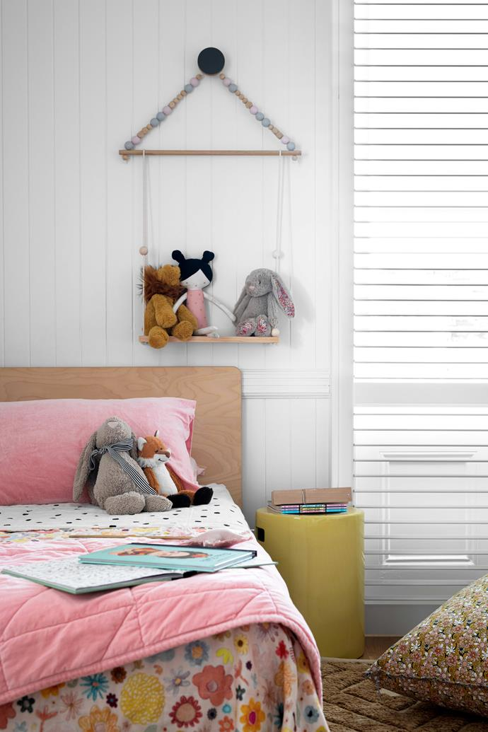 """In the girls' space, the bedding is by [Castle And Things](https://www.castleandthings.com.au/