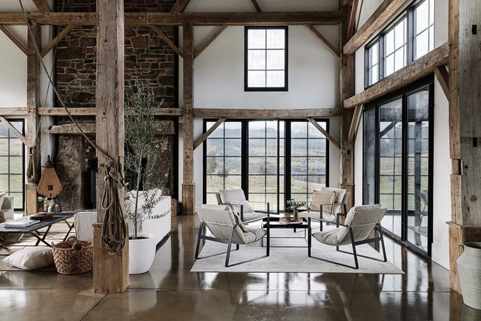 Spring is a great time to let the outdoors in, so pare back your styling and allow gorgeous springtime vistas to shine.