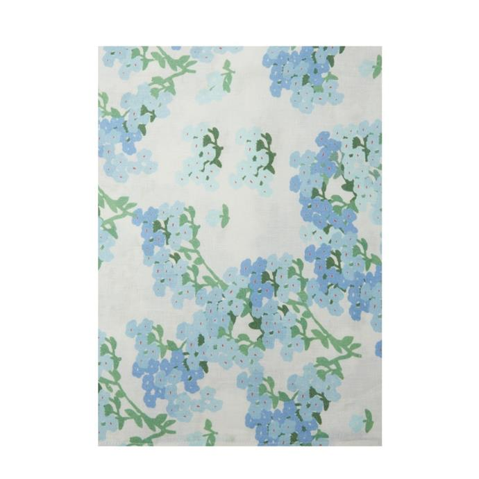 """**Bernadette Tablecloth, $309, [Matches Fashion](https://www.matchesfashion.com/au/products/Bernadette-Floral-print-150cm-x-300cm-linen-tablecloth-1437407