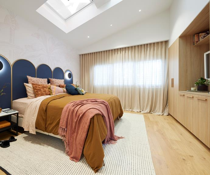 The judges preferred the wardrobes and styling in Tanya and Vito's master bedroom to their choices in the walk-in-robe.