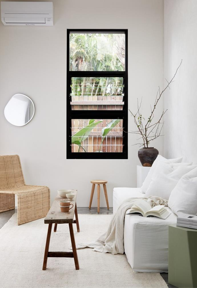 Furniture from the Worn Store and MCM House are the heroes of St Helena's minimalist space.