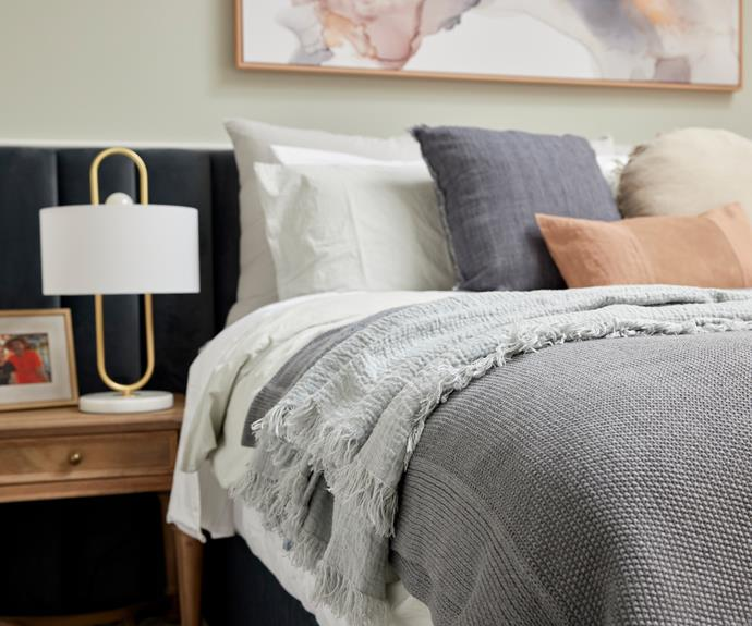 Despite some reservations, Neale said Kirsty and Jesse has created an inviting room that feels comfortable, relaxed and stylish.