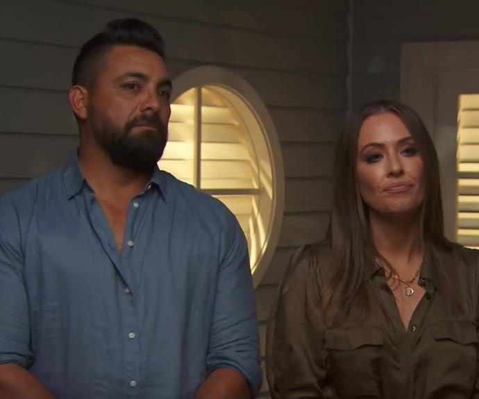 Ronnie dropped a bombshell after the judges' scores for master bedroom week were handed down.