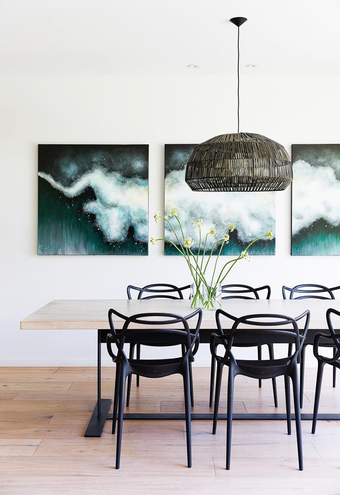 """""""We entertain a lot, so we wanted a totally inclusive space,"""" says homeowner Pippa of her abode in Sydney's eastern suburbs. In the [dining room](https://www.homestolove.com.au/dining-room-design-inspiration-6005