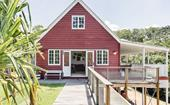 A barn style kit home with plenty of heart in the Noosa Hinterland