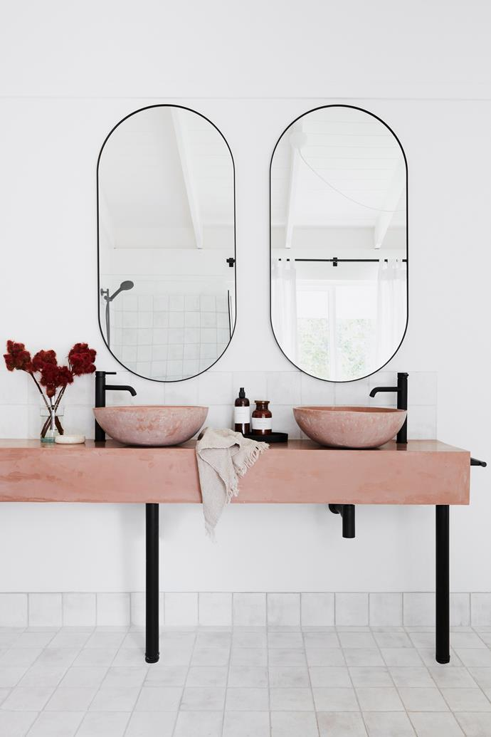 """Basins were made in Indonesia. Tapware from [Streamline Australia](https://www.streamlineproducts.com.au/
