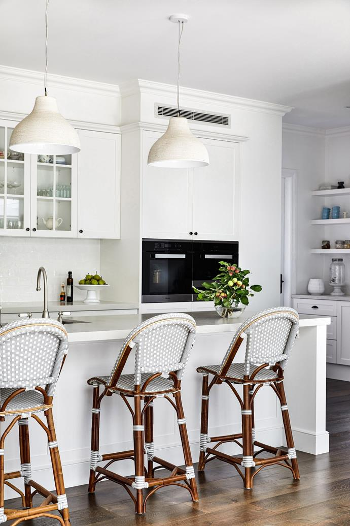 Task lighting is an essential part of a functional kitchen.