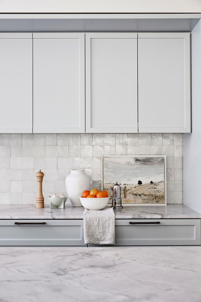 A blacksplash can make or break a kitchen, so don't leave it to the last minute.