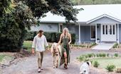 A renovated 90s farmhouse with contemporary yet timeless style