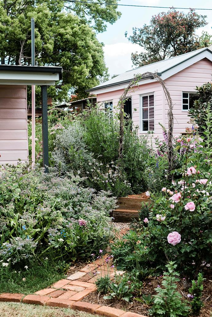 """After turning an old corner shop into a [gorgeous pink cottage](https://www.homestolove.com.au/grandmillennial-pink-cottage-22384