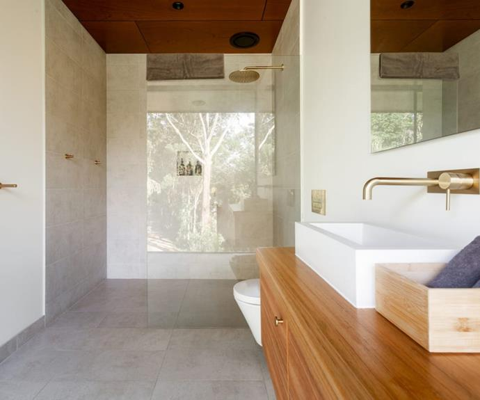 Class, brass and rain showers in every room.