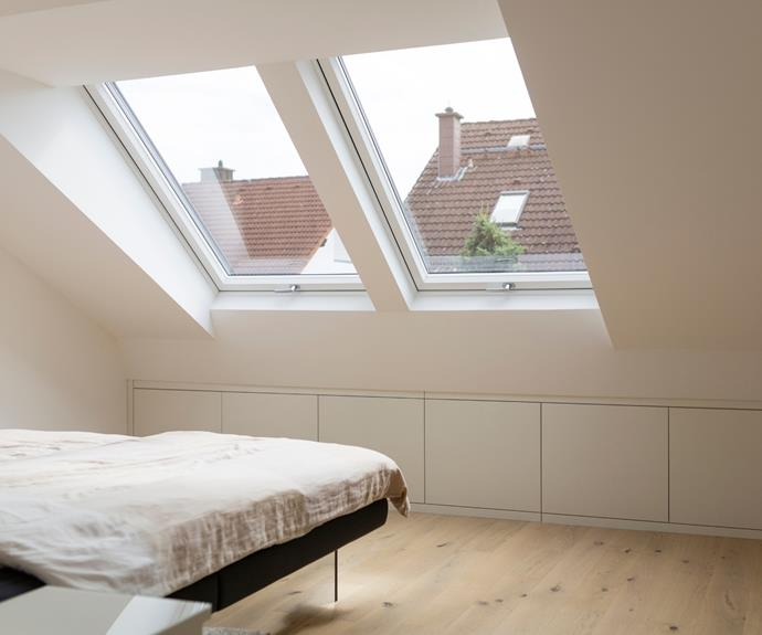 Keep things simple and streamlined to maximise space.