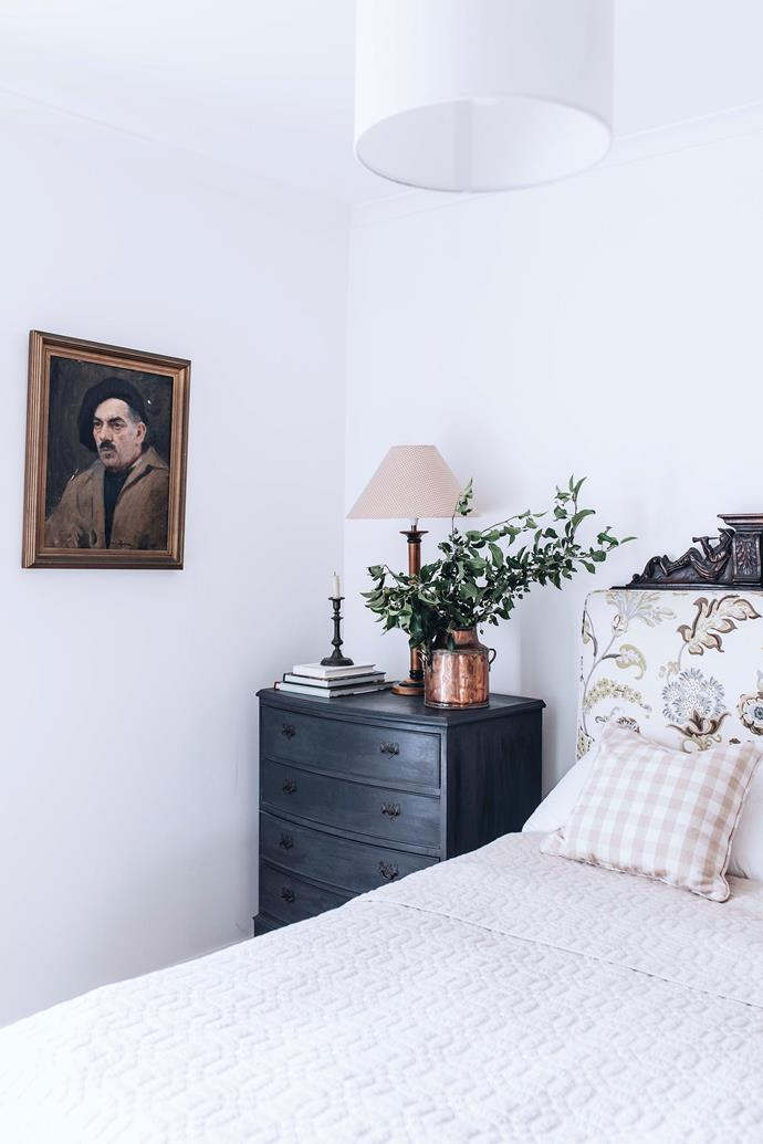 Gentle lamplight adds softness to each room.