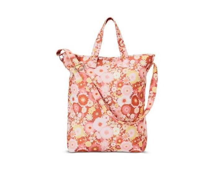 """**Home Republic 70's floral rust picnic bag, $39.99, [Adairs](https://www.adairs.com.au/homewares/gifting/home-republic/70s-floral-rust-picnic-bag/