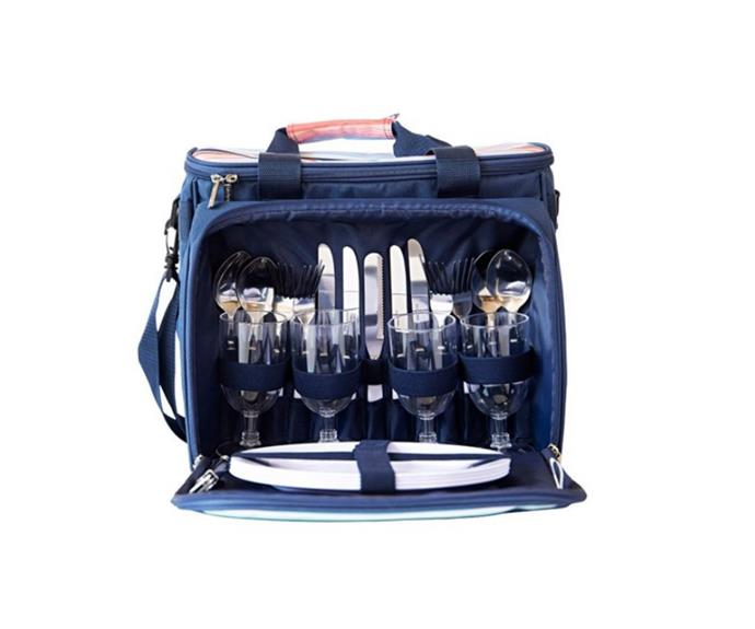 """**TakeAway picnic 4 person cooler bag, $129.99, [House](https://www.house.com.au/product/takeaway-picnic-4-person-cooler-bag