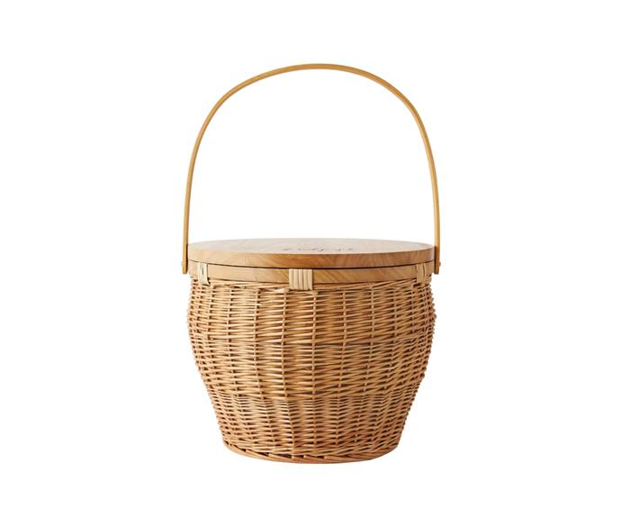 """**Picnic Basket, $199, [The Beach People](https://thebeachpeople.com.au/products/picnic-basket