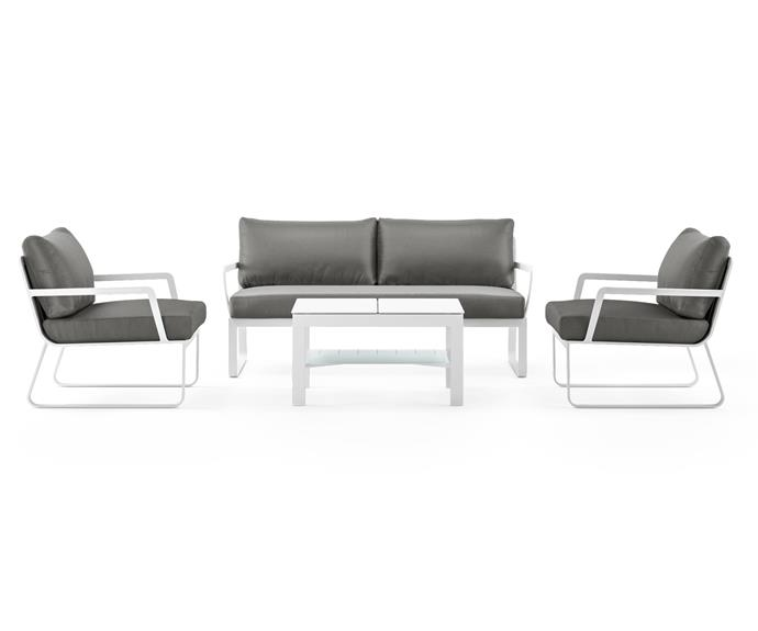 """**Lummus Outdoor Lounge Set, $3124, [Brosa](https://www.brosa.com.au/products/lummus-outdoor-lounge-set?SKU=BDLC04487