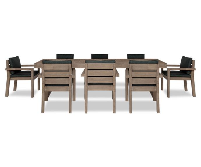 """**CANNES Dining Package, Charcoal, $3599, [Freedom](https://www.freedom.com.au/product/24405737