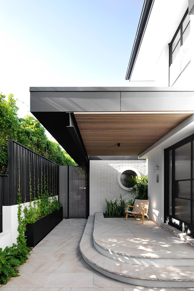 """1930s curves were retained and replicated in the minimal/Scandi renovation of [this generous family home](https://www.homestolove.com.au/1930s-home-scandi-minimal-renovation-22978