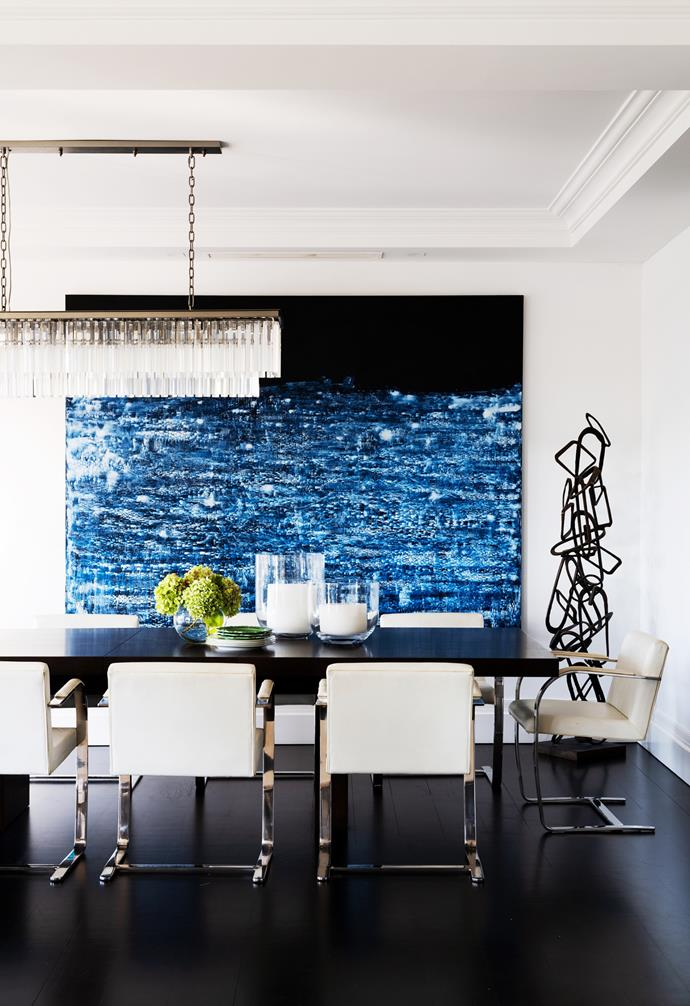 """The [dining room](https://www.homestolove.com.au/dining-rooms-5533