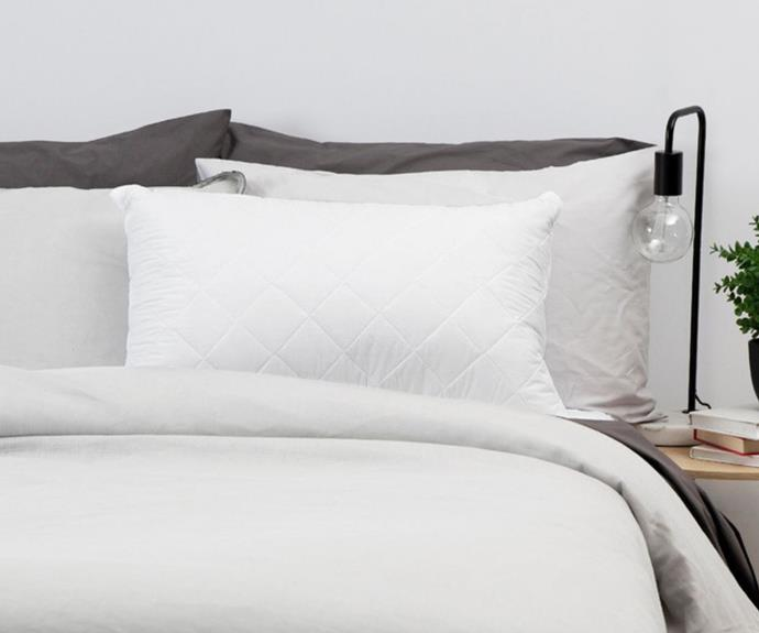 """**[Tontine Cool Dry Comfort Pillow MediumCool Dry Comfort Pillow Medium, $59.95, Myer](https://www.myer.com.au/p/tontine-col-dry-comfort-pillow-medium