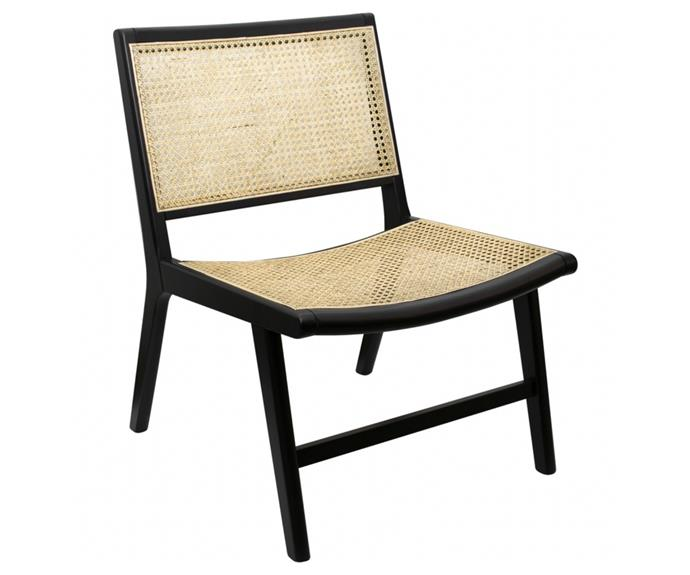 """Carve out a sunny corner in your home and create a reading nook with the stylish [Oxford rattan occasional chair, $199](https://www.bigw.com.au/product/htco-oxford-rattan-occasional-chair/p/149728/ target=""""_blank"""" rel=""""nofollow""""). Comes fully assembled and features a natural rattan back and seat."""