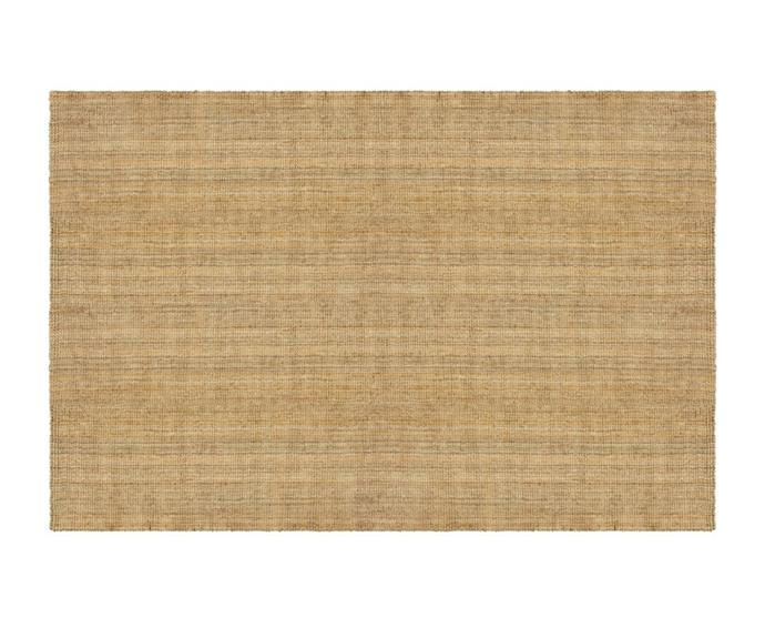 """Imbue your home with a breezy coastal feel by updating the floor coverings. The [Mat Design jute boucle large indoor rug (200 x 300cm), $349](https://www.bigw.com.au/product/mat-design-jute-boucle-large-indoor-rug-200x300cm/p/174065/ target=""""_blank"""" rel=""""nofollow"""") is an affordable and stylish option."""