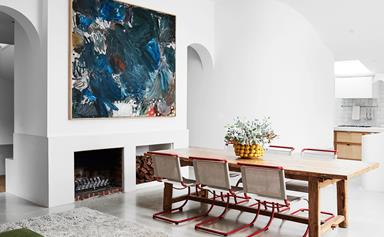 An alluring Melbourne home with an appreciation of arches