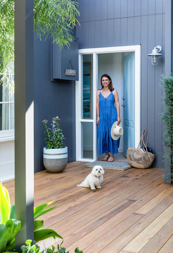 """With its beautifully reimagined rooms, the holiday home of interior designer and decorator Belinda speaks clearly of her style mantra. """"I wanted to bring a sense of relaxation to the house,"""" she says."""
