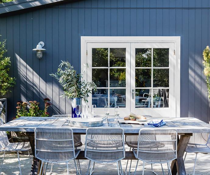 Entertaining visiting family and friends is a breeze with lunches on the deck.