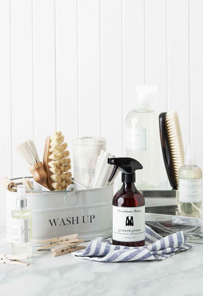 """There are also some [amazing natural cleaning solutions](https://www.homestolove.com.au/7-natural-cleaning-solutions-4912 target=""""_blank"""") you could try."""