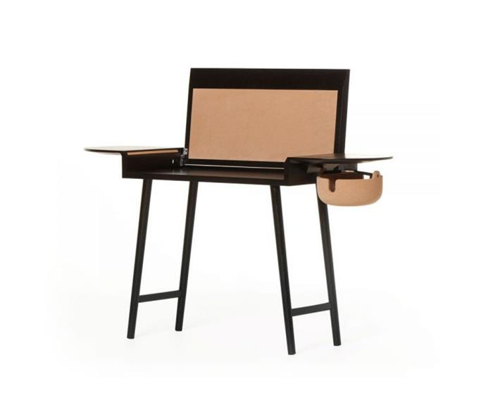 """**Studioilse '454 Companions' writing desk, from $5870, [Spence & Lyda](https://www.spenceandlyda.com.au/454-conpanions-desk-de-la-espada.html
