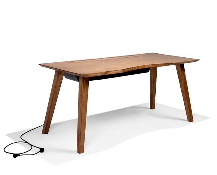 """**'Mesa 57' desk in Espresso, $1820, [Maram](https://www.maram.com.au/product-page/mesa57